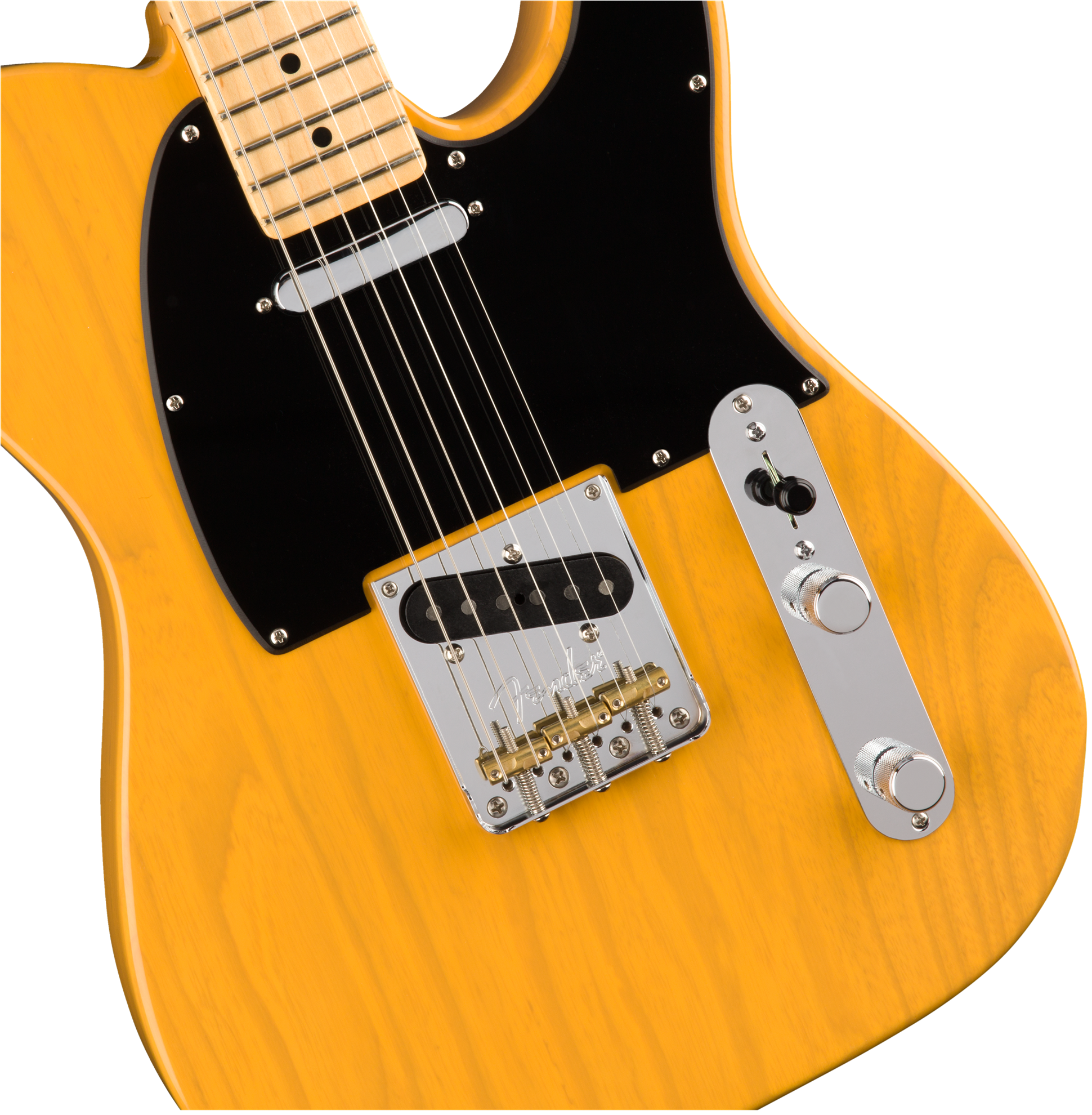 Fender American Professional Telecaster Electric Guitar - Maple Neck - Butterscotch Blonde