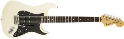 Fender American Special HSS Stratocaster Electric Guitar - Rosewood Fretboard - Olympic White