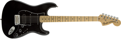 Fender American Special Stratocaster HSS Electric Guitar - Maple Neck - Black