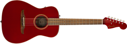 Fender California Malibu Classic Acoustic Guitar - Hot Rod Red Metallic