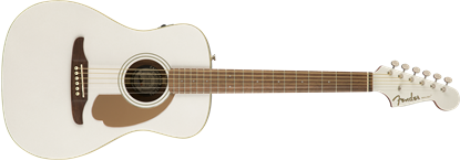 Fender California Malibu Player Acoustic Guitar - Arctic Gold