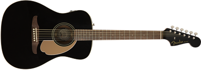 Fender California Malibu Player Acoustic Guitar - Jetty Black