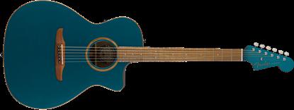 Fender California Newporter Classic Acoustic Guitar - Cosmic Turquoise