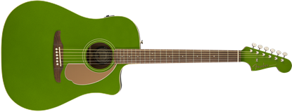 Fender California Redondo Player Acoustic Guitar - Electric Jade