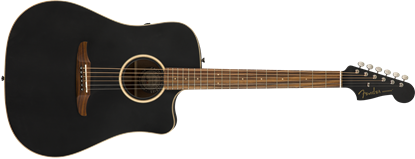 Fender California Redondo Special Acoustic Guitar - Matte Black