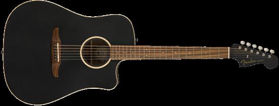 Fender California Redondo Special Acoustic Guitar - Matte Black