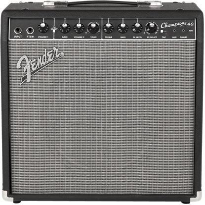 Fender Champion 40 Combo Guitar Amplifier - Front