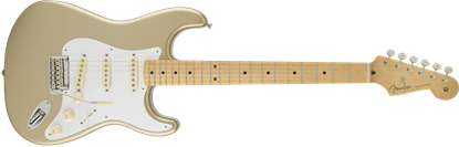 Fender Classic Player 50s Stratocaster Electric Guitar - Maple Neck - Shoreline Gold