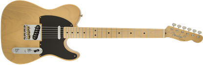Fender Classic Player Baja Telecaster Electric Guitar - Maple Neck - Butterscotch Blonde