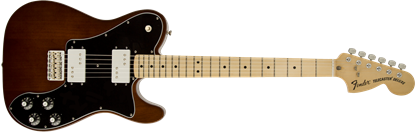 Fender Classic Series 72 Telecaster Deluxe Electric Guitar - Maple Neck - Walnut