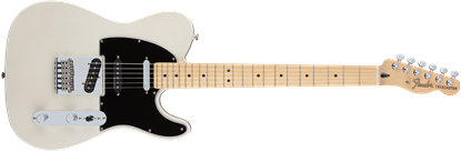 Fender Deluxe Nashville Telecaster Electric Guitar - Maple Neck - White Blonde
