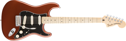 Fender Deluxe Roadhouse Stratocaster Electric Guitar - Maple Neck - Classic Copper