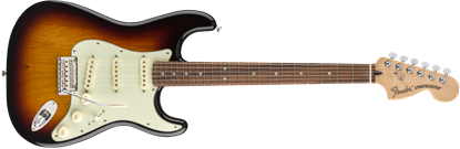 Fender Deluxe Roadhouse Stratocaster Electric Guitar - Pau Ferro Fretboard -3 Colour Sunburst