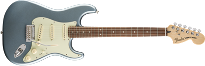 Fender Deluxe Roadhouse Stratocaster Electric Guitar - Pau Ferro Fretboard -Mystic Ice Blue