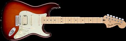 Fender Deluxe Stratocaster HSS Electric Guitar - Maple Neck - Tobacco Sunburst