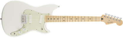 Fender Duo Sonic Electric Guitar - Maple Neck - Arctic White