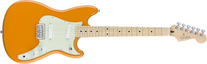 Fender Duo Sonic Electric Guitar - Maple Neck - Capri Orange