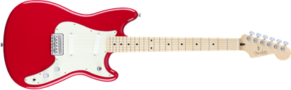 Fender Duo Sonic Electric Guitar - Maple Neck - Torino Red