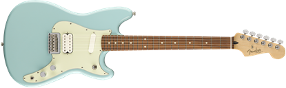 Fender Duo Sonic HS Electric Guitar - Pau Ferro Fretboard -Daphne Blue