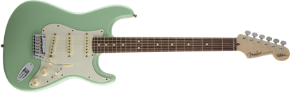 Fender Jeff Beck Signature Stratocaster Electric Guitar - Rosewood Fretboard - Surf Green