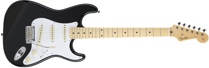 Fender Made in Japan Hybrid '50s Stratocaster Electric Guitar - Black