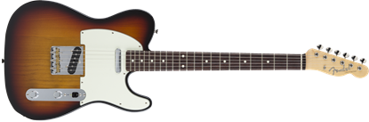 Fender Made in Japan Hybrid '60s Telecaster Electric Guitar - 3 Colour Sunburst