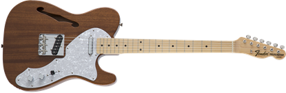 Fender Made in Japan Traditional '69 Telecaster Thinline Electric Guitar - Natural