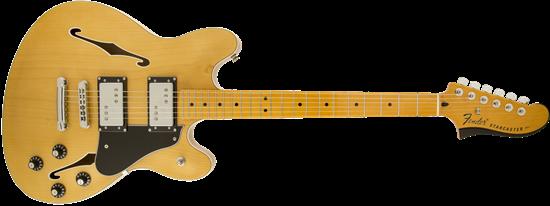 fender modern player starcaster electric guitar maple neck natural perth mega music online. Black Bedroom Furniture Sets. Home Design Ideas
