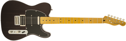 Fender Modern Player Telecaster Plus Electric Guitar - Maple Neck - Charcoal Transparent