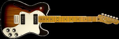 Fender Modern Player Telecaster Thinline Deluxe Electric Guitar - Maple Neck - 3 Colour Sunburst