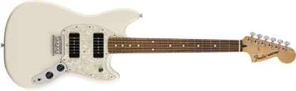 Fender Mustang 90 Electric Guitar - Pau Ferro Fretboard -Olympic White