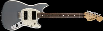 Fender Mustang 90 Electric Guitar - Pau Ferro Fretboard -Silver