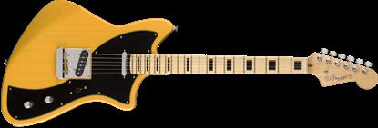 Fender Parallel Universe Meteora Electric Guitar - Maple Neck - Butterscotch Blonde