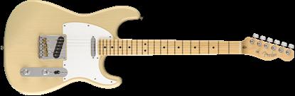 Fender Parallel Universe Whiteguard Stratocaster Electric Guitar - Maple Neck - Vintage Blonde