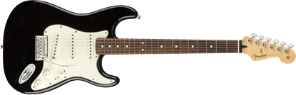 Fender Player Stratocaster Electric Guitar - Pau Ferro Fretboard -Black