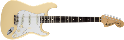 Fender Yngwie Malmsteen Signature Stratocaster Electric Guitar - Rosewood Fretboard - Vintage White