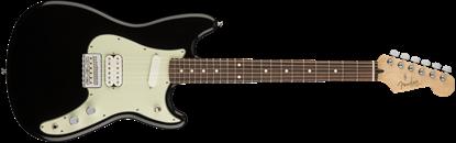 Fender Duo-Sonic HS Electric Guitar - Pau Ferro Fretboard -Black
