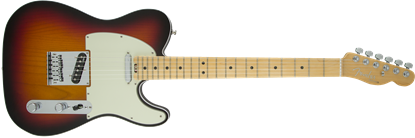 Fender American Elite Telecaster Electric Guitar - Maple Neck - 3 Colour Sunburst