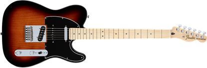 Fender Deluxe Nashville Telecaster Electric Guitar - Maple Neck -  2-Tone Sunburst