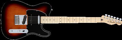 Fender Deluxe Nashville Telecaster Electric Guitar - Maple Neck -  2-Tone Sunburst