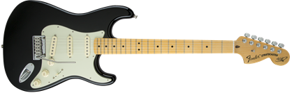 Fender Edge Signature Stratocaster Electric Guitar - Maple Neck - Black