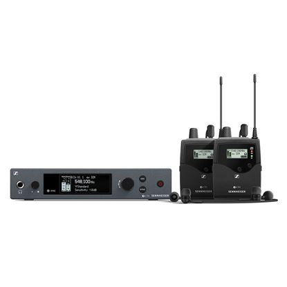 Sennheiser EW IEM G4-TWIN Wireless In Ear Monitor System - Choose Frequency (EWIEMG4TWIN)