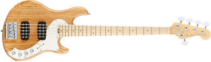 Fender American Elite 5 String Dimension Bass Guitar - Maple Neck - Natural