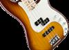 Fender American Elite Precision Bass Guitar - Maple Neck - Tobacco Sunburst