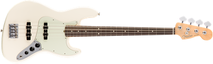 Fender American Professional Jazz Bass Guitar - Rosewood Neck - Olympic White