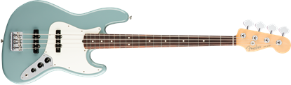 Fender American Professional Jazz Bass Guitar - Rosewood Neck - Sonic Grey