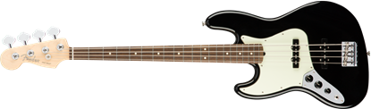 Fender American Professional Jazz Bass Guitar Left-Hand - Rosewood Neck - Black