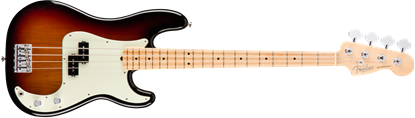 Fender American Professional Precision Bass Guitar - Maple Neck - 3 Colour Sunburst