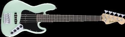 Fender Deluxe Active 5 String Jazz Bass Guitar - Pau Ferro Fretboard - Surf Pearl