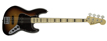 Fender Geddy Lee Jazz Bass Guitar - Maple Neck - 3 Colour Sunburst